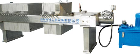 Filter press of Stainless Steel Plate