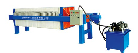 Hydraulic Pressure Filter Press