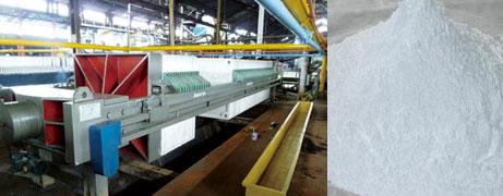 Lithopone filter press