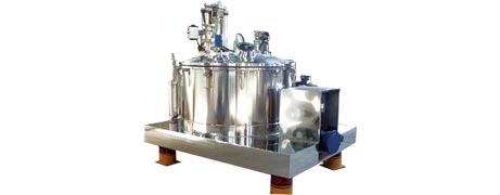 PGZ scarper bottom discharge centrifuge