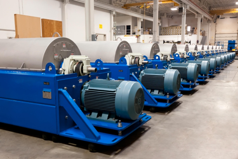 sludge dewatering centrifuge