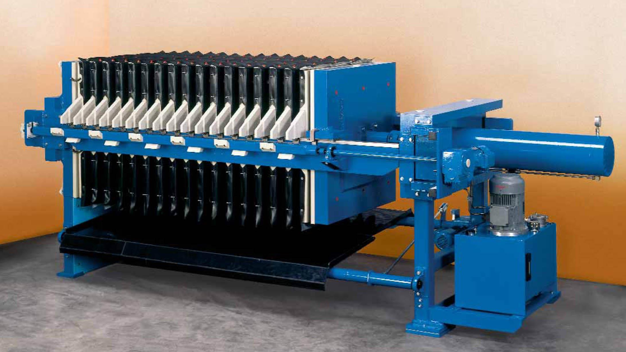sludge filter presss